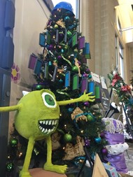 Festival of Trees Monsters Inc.