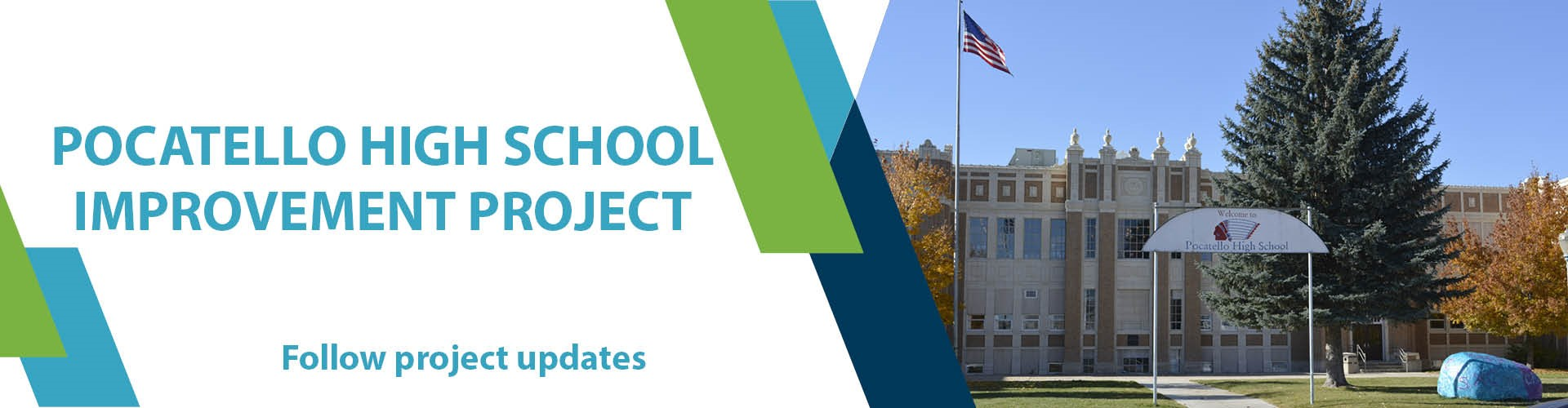 Follow Pocatello High School Improvement Project updates.